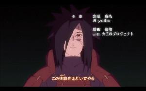 En el Opening Niwaka Ame Ni mo Makezu se puede ver a Madara resucitado ...