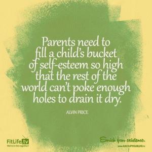 Raise children's self esteem !!