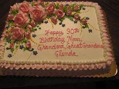 90th Birthday Cake | Mayhem in the Kitchen!