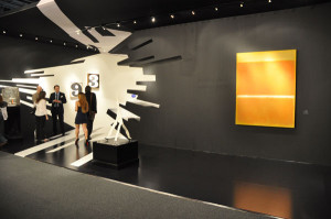 ... by starchitect Zaha Hadid with a Mark Rothko at Art Basel Miami Beach