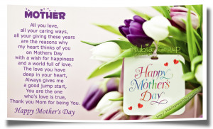 Special Mother's Day
