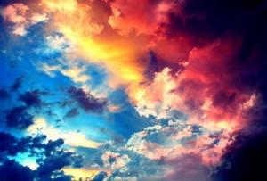 cielo, heaven, multi-colored, skies, sky