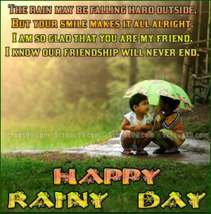 Back > Quotes For > Happy Rainy Day Quotes And Sayings
