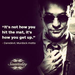daredevil 33 # squareinstapic # daredevil # murdock # moto # quotes
