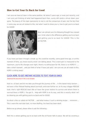 Here's how to start this My Ex Husband Is Sending Me Messages will ...
