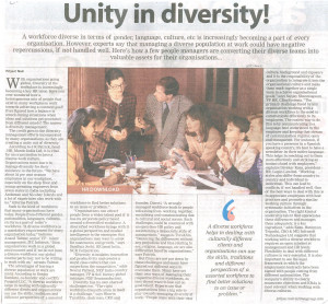Diversity In The Workplace Quotes Diversity at the workplace