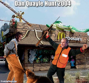 Dan Quayle Hunt pictures )