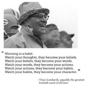 Vince Lombardi Quotes Success And this quote from the great