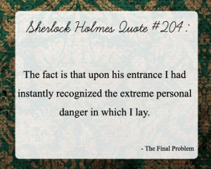 Sherlock Holmes Quotes Famous Best Sayings Long