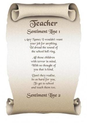 Best Teacher Poems Picture