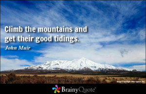 john muir hiking favorite john muir quotes