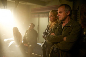 ... Stephen Collins, Elizabeth Mitchell and Zak Orth in Revolution (2012