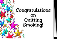 Congratulations on Quitting Smoking! card - Product #231003