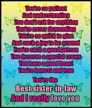 ... Quotes Sayings, Awesome Sisters Quotes, Best Sisters In Law Quotes