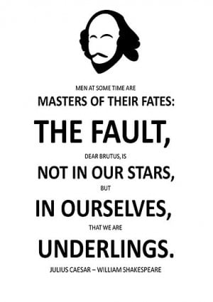 ... › Portfolio › Shakespeare The Fault is not in Our Stars