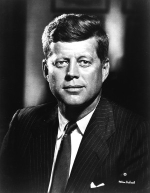 JFK Official portrait