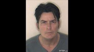 Charlie Sheen's arrest for domestic violence