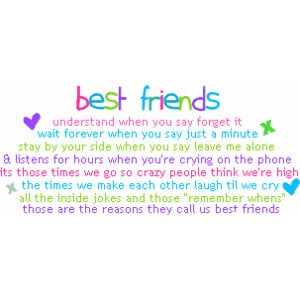 Friend quote image by mega_to3 on Photobucket