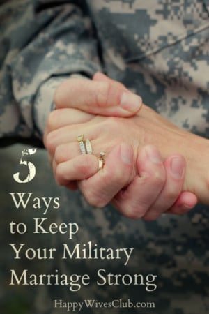 Military Couples Quotes Military marriage strong