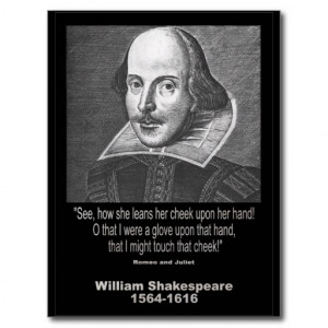 Shakespeare Quote ~ Romeo and Juliet Postcards