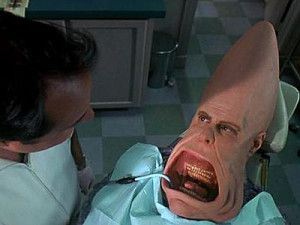 Coneheads is the title of a 1993 movie starring Dan Aykroyd and Jane ...