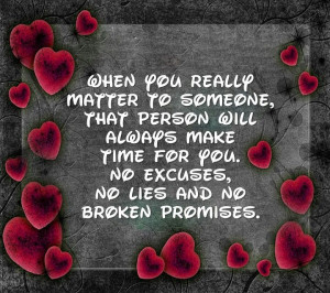 Matter to Someone