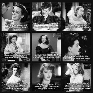 Bette Davis, memoraveis quotes.