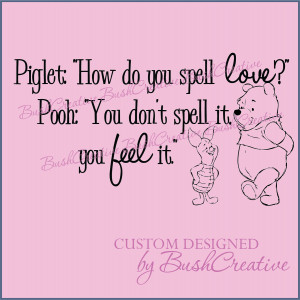 Winnie And Piglet Quotes...