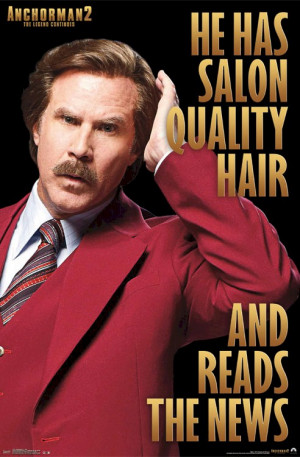 Related Pictures movie poster will ferrell ron burgundy funny ...