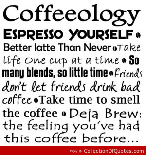Coffee Quotes – Famous Quotes & Sayings-002