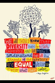 Diversity ... Embrace it and we all win More