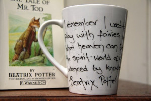 Beatrix Potter quote mug