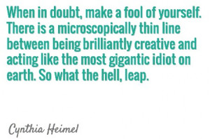 Take a Leap of Faith into 2014 – Even if it Scares the Pants Off of ...