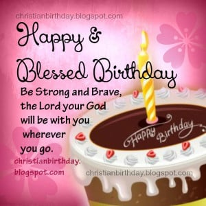 Birthday Card with christian quotes, free christian image for woman ...