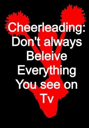Cheerleading is a sport!!