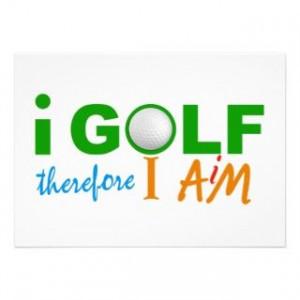 Funny Golf T Invitations, 166 Funny Golf T Announcements & Invites
