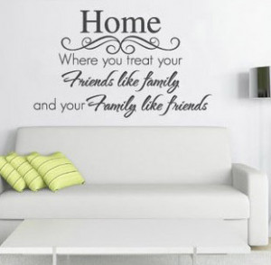 NEW-Quote-Home-Friends-Family-Wall-Sticker-Vinyl-Decal-Arty-Large ...