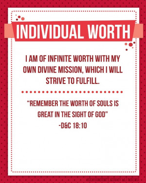 Individual Worth