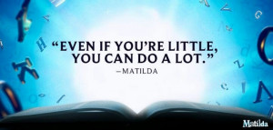 Even If You're Little, You Can Do A Lot.