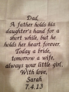 father s quotes amp quotes about fathers and daughters on wedding day ...