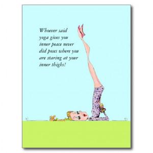funny_yoga_postcard_with_funny_yoga_humor ...