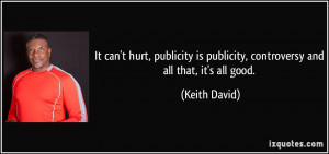 More Keith David Quotes