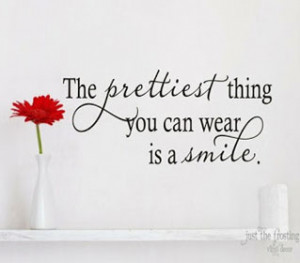 Smiles quote – Your smile is …