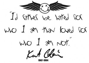 ... quote i love it its a famous quote from kurt kurt cobain quote tattoo