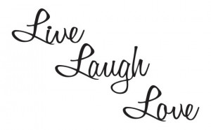 Live Laugh Love Quotes Metal Wall Art Wall by RefinedInspirations