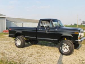 Video of a B-e-a-utiful 1979 Ford Truck