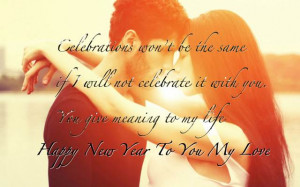 Happy New Year Quotes for Son Daughter Girlfriend Boyfriend Lover