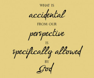 What is an accident from our perspective is specifically allowed by ...