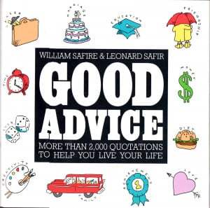 atozchallenge G: Good advice . Best advice my mother gave me was ...