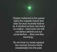 green light great gatsby quotes